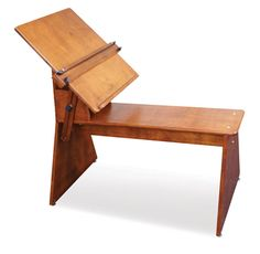Drawing Easel with seat. Rustic and Perfect.