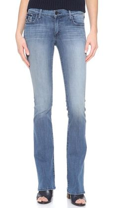 True Religion The Becca Mid Rise Boot Cut Jeans | SHOPBOP