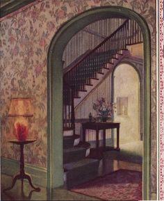 1926 Green and Floral scheme. LHJ.