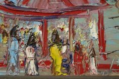 germaine brus - Google zoeken Fauvism, Antwerp, Impressionism, Portrait, Canvas, Google, Painting, Color, Art
