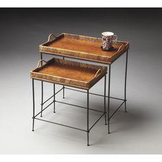 Butler Nesting Tables - Butler Loft - 24W in. | from hayneedle.com