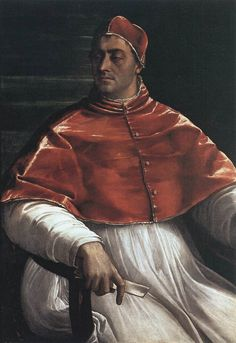 Clement VII, born Giulio Zenobius, son of Giuliano de 'Medici (Florence, May 26, 1478 - Rome, 25 September 1534). Member of the Florentine Medici family, was the 219^ pope of the Catholic Church.