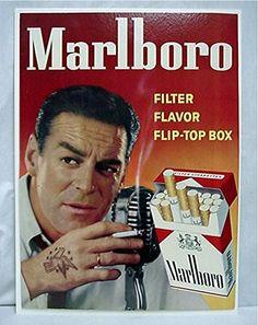 Marlboro cigarettes vintage ads