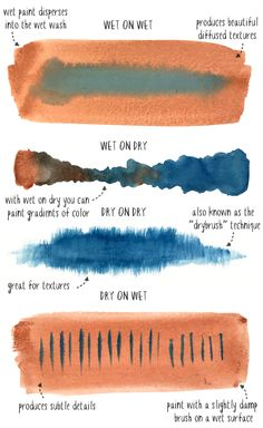 Fundamental Watercolor Techniques for Beginners Fundamental Watercolor Techniques for Beginners Learn more about the fundamental watercolor techniques that beginners should focus on to improve their skills<br> Watercolor Beginner, Watercolor Paintings For Beginners, Watercolor Tips, Watercolour Tutorials, Watercolor Techniques, Watercolor Landscape, Painting Tips, Watercolor Illustration, Art Techniques