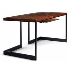 "Wishbone Slab Top Desk Price: $1,634.40 + Free Shipping Select from 6 wood veneer options. The Slab Top Desk features a substantial, wood veneer slab tabletop that is supported by a unique metal structure. A keyboard/laptop pullout platform in matching solid timber is offered as an optional add-on. Key board add on 300 dollars Material(s): Natural wood, metal support Dimensions: ■W20: 48"" W X 24"" D X 29"" H ■W21: 60"" W X 30"" D X 29"" H ■W22: 72"" W X 36"" D X 29"" H"