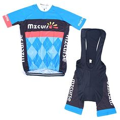 Boys' Cycling Jerseys - Mzcurse Mens Team Bike Bicycle Cycling Short Shirt Jersey Shorts Suit Kit Set * Continue to the product at the image link.