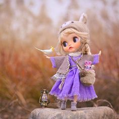 """800 Likes, 38 Comments - Junjun (@junjun2060) on Instagram: """"I have waiting for you for a long time. Let's go out for a play  #handmade #手作り #blythe…"""""""