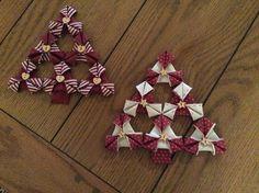 My own hand sewn Christmas trees