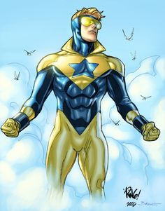 Out from the Sky Comes Booster Gold