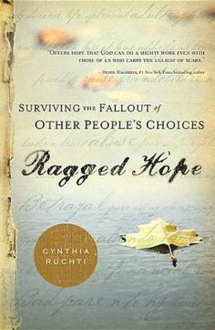 How do you survive when others around you are stealing your joy? The author Cynthia Ruchti gives the reader 26 chapters packed full of stories to help the reader regain their joy in Ragged Hope: Surviving the Fallout of Other Peoples Choices.