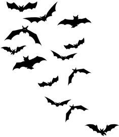 I want a flock of bats tatted somewhere on me! Possibly my first tattoo.