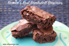 Peanut butter cup brownies, Cup brownie and Brownies on Pinterest