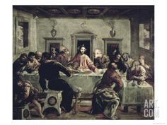 The Last Supper Giclee Print by El Greco at Art.com