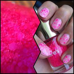 @claireseurope Junk and @wetnwild_official Tickled pink. #beauty #makeup #colorful #nails #color #nailart #nail #nailpolish #manicure #nailswag #notd #naildesign #nailporn #mani #nailedit #nails2inspire #nailsdid #nailartclub #nailaddict #naildesigns #nailpromote #nailsdone #cutenails #macro #pink #cute