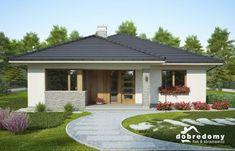 Adele - Dobre Domy Flak & Abramowicz Adele, Facade, Gazebo, Interior Decorating, Farmhouse, Outdoor Structures, Outdoor Decor, Houses, Number