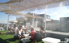 Sistema de Nebulización Masterkool España en la terraza del restaurante del círculo de bellas artes. #nebulización #terrazas #MasterkoolEspaña #hostelería #microclimas #círculodebellasartes