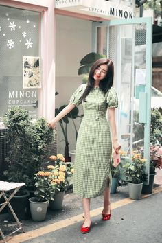 Learn about these amazing korean fashion trends 3446 Simple Dresses, Pretty Dresses, Casual Dresses, Modest Dresses, Korean Fashion Trends, Asian Fashion, Fashion Ideas, Fashion Tips, Modest Fashion