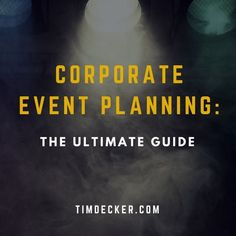 Corporate event planning is a lot of work. Don& miss a single detail. From decor to speakers to dinner, this corporate event planning guide has it covered. Event Planning Checklist, Event Planning Business, Business Events, Event Guide, Party Planning, Business Ideas, Wedding Planning, Event Planning Template, Event Planning Quotes
