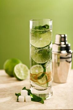 Cuban Mojito recipe the original authentic recipe from Havana Cuba 1 teaspoon powdered sugar Juice from 1 lime (2 ounces) 4 mint leaves 1 sprig of mint Havana Club white Rum (2 ounces) 2 ounces club soda There are countless recipes for the Mojito (pronounced moh-HEE-toh), but this version is for the one Hemingway himself enjoyed at the Mojito's place of birth: La Bodeguita del Medio in Havana, Cuba. If you are throwing a Cuban theme party (Havana night themed party), definitely plan on…