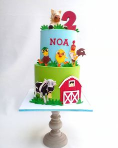 Farm Birthday, Birthday Parties, Ideas Para Fiestas, First Birthdays, Bakery, Baby Shower, Party, Crafts, Instagram