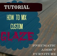 This is a really great tutorial on mixing glazes and colors.
