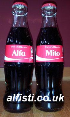 Alfa Romeo Mito Cike Bottles