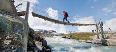 Hardangervidda National Park in Norway