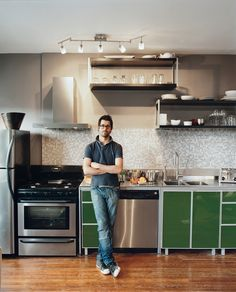 Hipster kitchen / single man