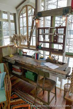 Nelson Treehouse Catskills Glasshouse Treehouse