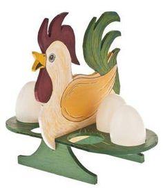 Laubsäge-Vorlage Gockel / Ente Eierständer 18x15,5x14,5 cm Bausatz f. Kinder ab 8 Jahren: Amazon.de: Spielzeug