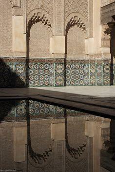 Ben Youssef Madrasa, Marrakesh, Morocco.  Photo: Henry Patton, via Flickr