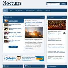 Nocturn WordPress Theme