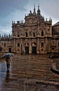 Chuvia - de Nerea García | En Santiago de Compostela. Galicia Spain