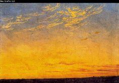 Caspar David Friedrich - Evening