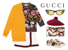 """Presenting the Gucci Garden Exclusive Collection: Contest Entry"" by hungry-unicorn ❤ liked on Polyvore featuring Gucci and gucci"