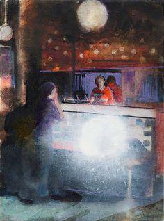 Kerstin Drechsel painting