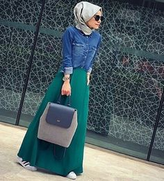 # jeans #hijabioutfit