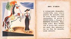 Livro infantil. O Circo, texto e ilustrações em cores d..