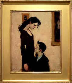 Favorite painting. Malcolm Liepke.