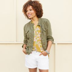 Femininity meets utility. Mix cargo pieces with softer styles—like a floral blouse—for a laid-back look. #trendalert