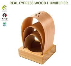 Real Cypress Wood Humidifier Phytoncide defusser for Green shower atopic free air quality improve( patented). Natural Cypress wood ( phytoncide Green Shower)HINOKI. Natural Humidifier and Diffuser for family health ( help for skin,Atopic,asthma and anti-bacterial ).   eBay!