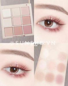 Anime Makeup, Kawaii Makeup, Eye Makeup Art, Cute Makeup, Skin Makeup, Makeup Inspo, Asian Makeup Tips, Asian Makeup Looks, Korean Eye Makeup