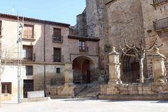Albergue de peregrinos la Parroquia de Santa María, Viana #Navarra #CaminodeSantiago