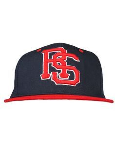 Rocksmith Clothing Classic RS Snapback Hat - Navy/Red $30.00 #rocksmith