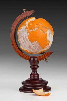 Artist Martin Roller | art | sculpture | food art | clever art