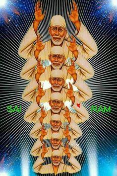Sai Baba Pictures, Sai Baba Photos, God Pictures, Lord Shiva Hd Images, Ganesh Images, Shirdi Sai Baba Wallpapers, Sai Baba Hd Wallpaper, Saints Of India, Lord Balaji