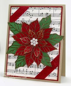 Joyful Christmas in Traditional Colors - Ann Schach