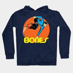 """""""bones"""" Hoodie"""