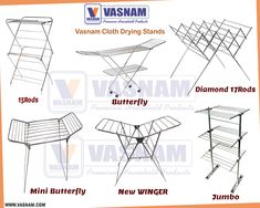 Trust Vasnam, ISO certified, Indian brand of clothes drying stands, ironing boards and aluminium ladders. Always there to help with your household chores. Cloth Drying Stand, Metal Shoe Rack, Steel Shoes, Aluminium Ladder, Family Of Five, Clothes Dryer, Household Chores, Stand Design, Ladders