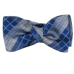 Italian Silk Bow Tie - www.buyyourties.com Silk Bow Ties, Blue Grey, Fashion Accessories, Handmade, Men, Bow Ties, Ties, Hand Made, Arm Work